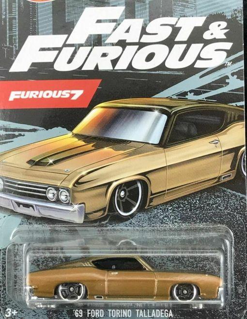 MA FORD USA 164 TORINO TALLADEGA 1969 FAST FURIOUS 7