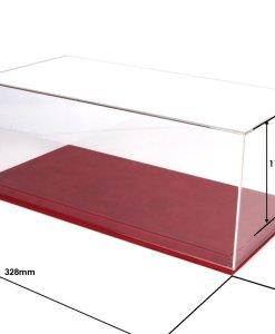 Teca e Base modellismo 118 Auto BBR rossa