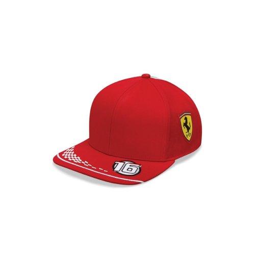 Cappellino Charles Leclerc 16 Scuderia Ferrari Puma F1 Replica Team 2020 Adulto