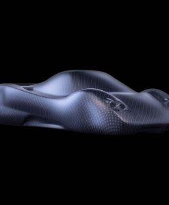 Sculturia cars Pagani Zonda C12 carbon look 2