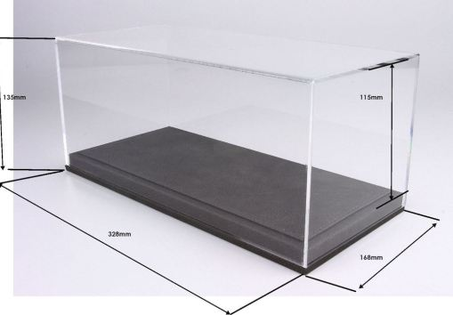 1 Vetrina e Base scala 118 grigio BBR Models