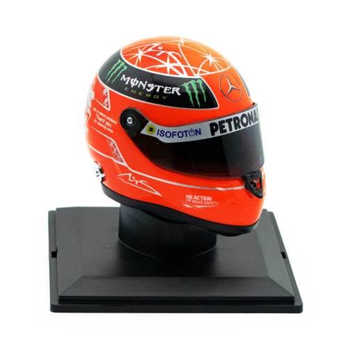 Michael Schumacher Final Helmet GP Formel 1 2012 14 3