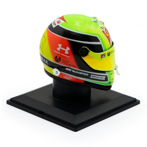 Mick Schumacher miniature helmet 2020 14 lato 2