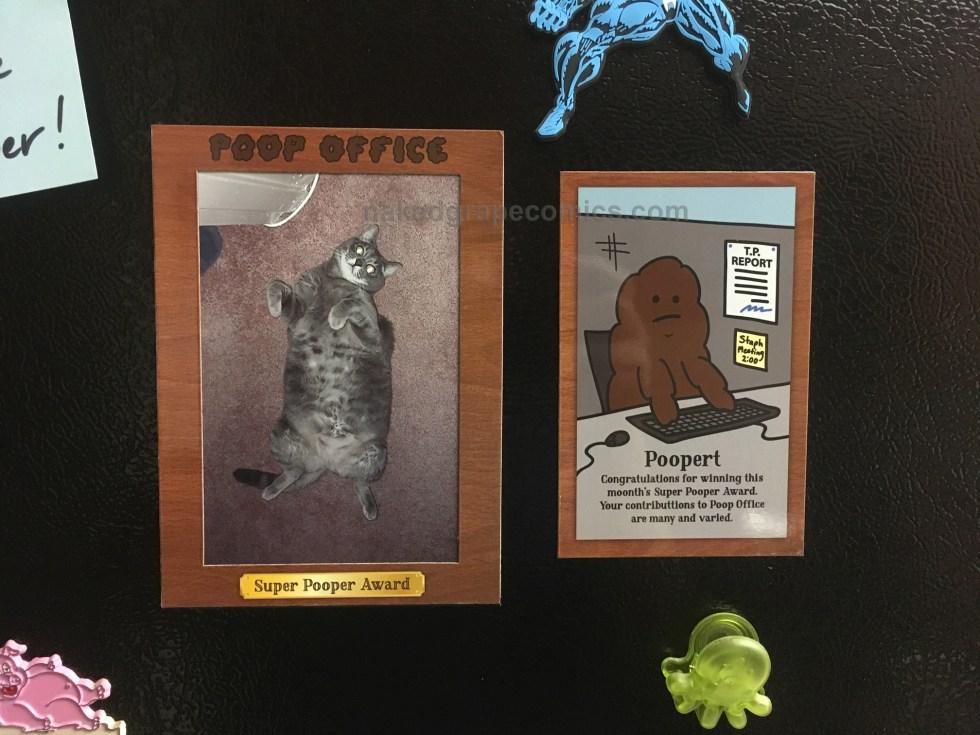 """Magnetic Photo Frame """"Super Pooper Award"""""""