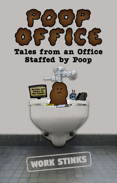 Poop Office Book Cover Poster