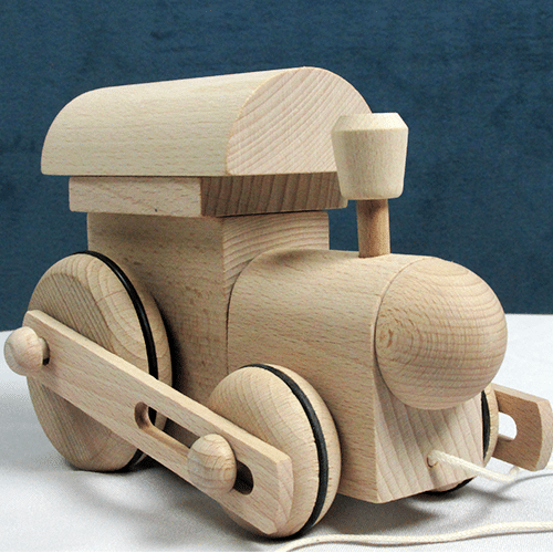 Wooden Locomotive Pull Toy