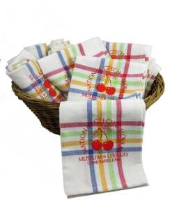 NCSML Cherry Kitchen Towel
