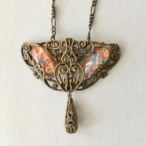 *SAMPLE SALE* Opal Art Nouveau Necklace