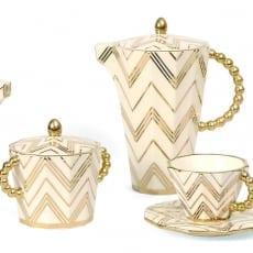 Modernista Gold Sugar Bowl