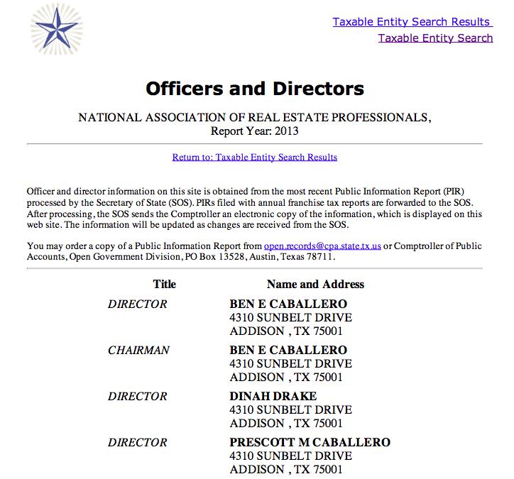 NAREP-Directors