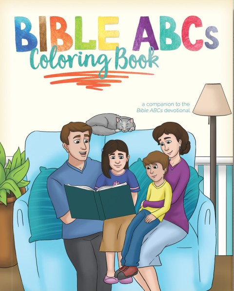 BIBLE ABCS COLORING BOOK