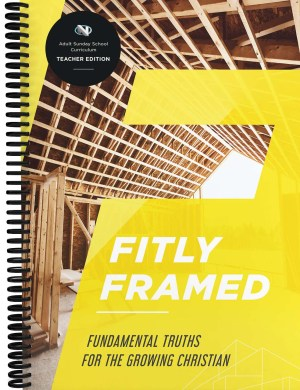 Discipleship: Fitly Framed Teacher Book Cover