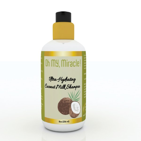 Ultra Hydrating, Coconut Milk Shampoo