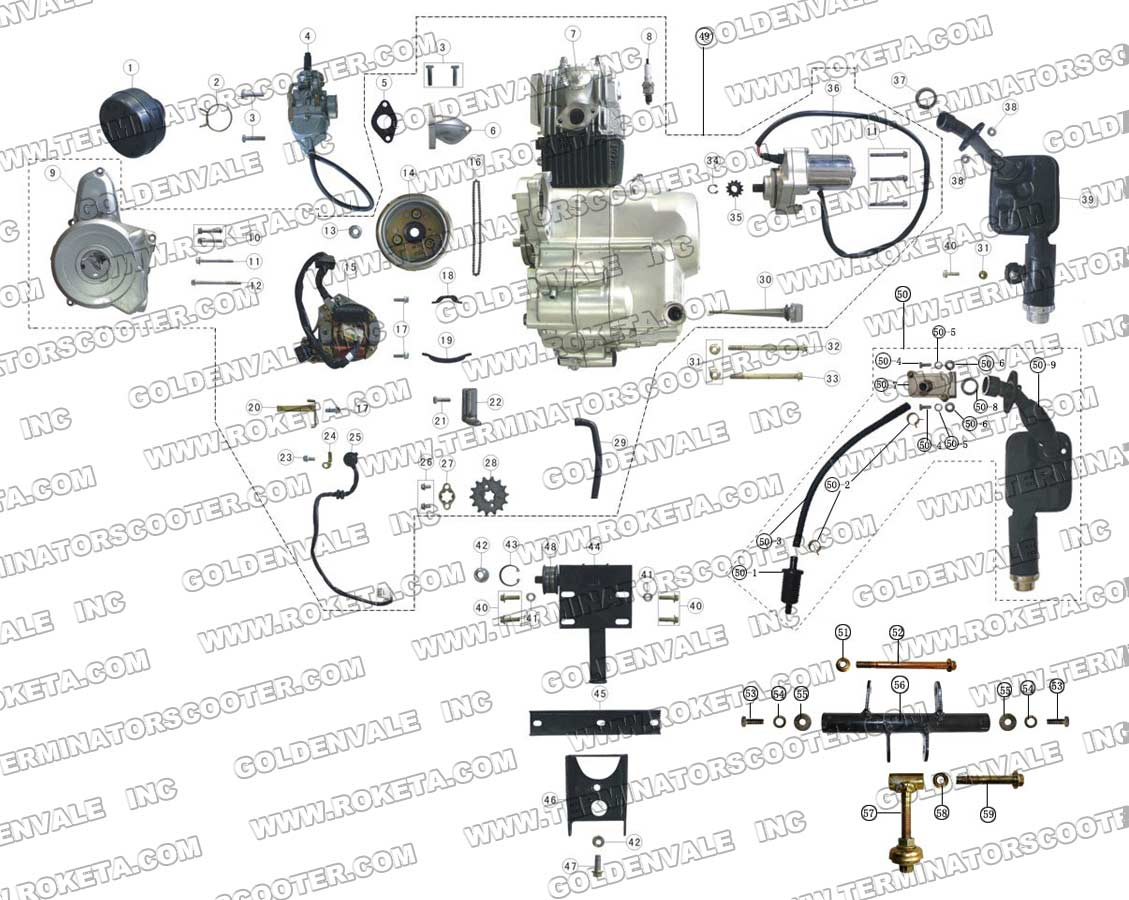 roketa 200cc wiring diagram | wiring diagram database on