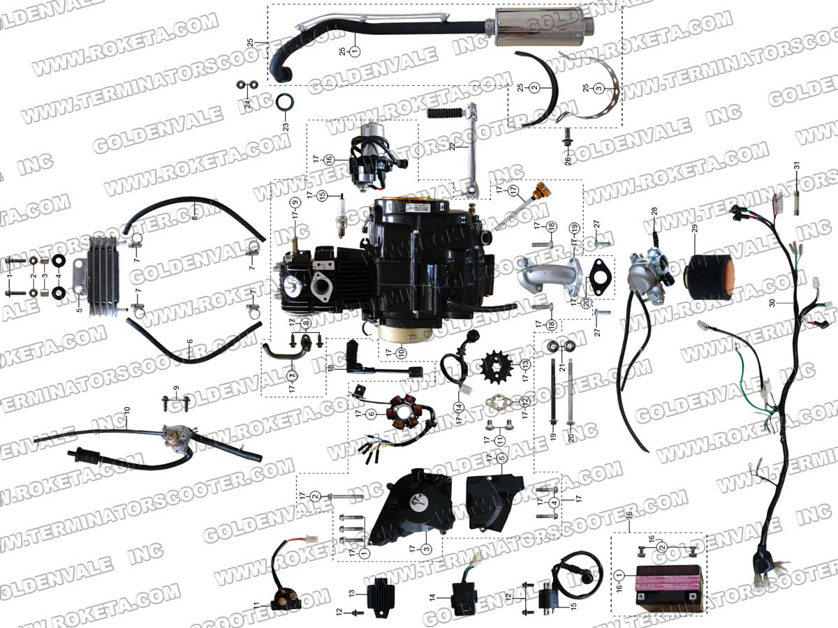 Chopper Engine Diagram Cc Scooter Wiring Diagram Tractor Repair Wiring Diagram Ironhead Wiring