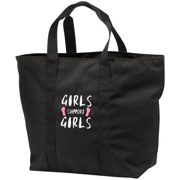 Girls Support Girls  Port & Co. All Purpose Tote Bag