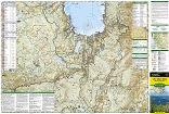 National Geographic Lake Tahoe Basin Map