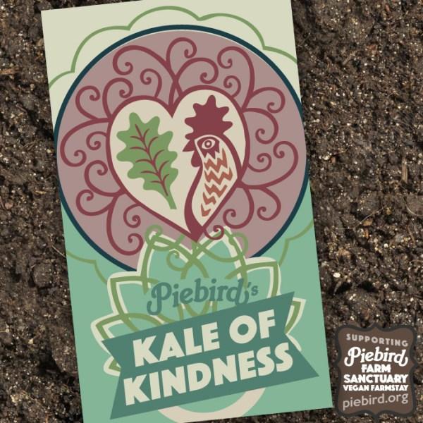 Kale of Kindness - heirloom seeds