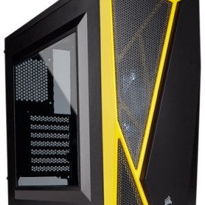 caja  atx semitorre corsair carbide spec-04 negra-amarilla  cc-9011108-ww