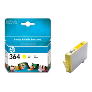tinta hp 364 psb8550/d5460/psc5380 ori amarillo cb320ee