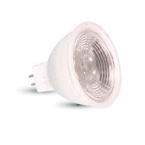bombilla led gu5.3/mr16 v-tac 7w-50w luz calida 550lm spot l1663