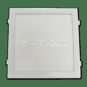 panel led classic v-tac cuad slim 300*300*25mm 24w>>100w luz natural 2000lm l4888