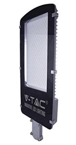 farola de calle v-tac led 30w>>270w luz fria 3720lm premium slim hi l5473