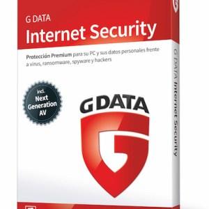 software antivirus gdata 2018 intenet security 1 pc 12 meses