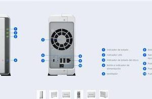 unidad nas synology disk station 1 hd sataiii ds115j