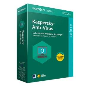 software antivirus kaspersky 2018 antivirus 3 licencia