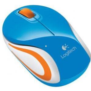 raton logitech inalambrico m187  azul in/usb 910-002733