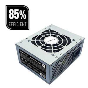 fuente alimentacion  sfx 300w unyka 85% eficiencia 52002