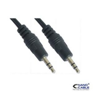 cable audio estereo 3.5/m-3.5/m 0.3 m nanocable 10.24.0100