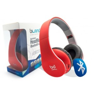 auricular biwond headbluex bluetooth 4.0 microfono rojo 50915