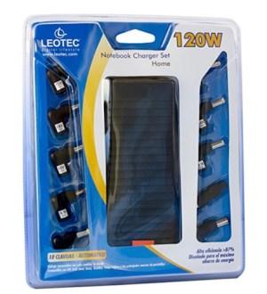 cargador portatil  120w leotec automatico salida 12-20v 10 conect lencshome08