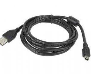 cable usb 2.0 tipo a/m-mini usb 5pin/m 1.8 m gembird ccf-usb2-am5p-6
