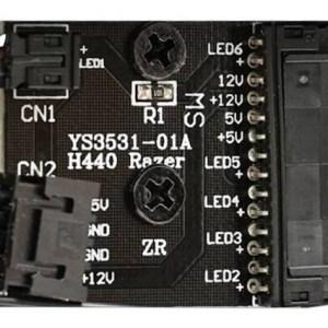 controlador iluminacion led hub nzxt razer h442