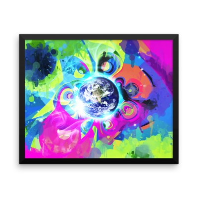 Good Morning – Framed photo paper poster