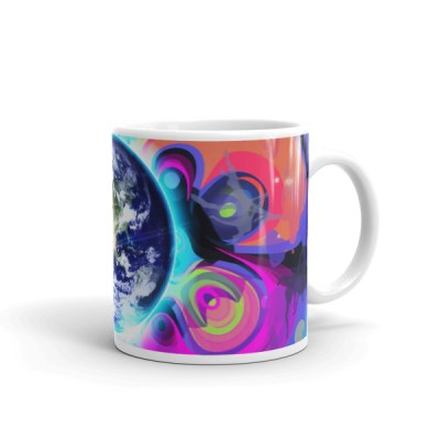 Good Morning – Abstract Art Mug by Reformation Designs