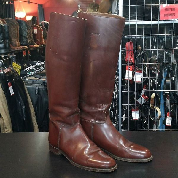 MARLBOROUGH Leather Riding Boot BOOTS 13490