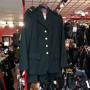 CANADIAN MILITARY Textile Women's Uniform MILITARIA 14397 ( Size REG 10 )