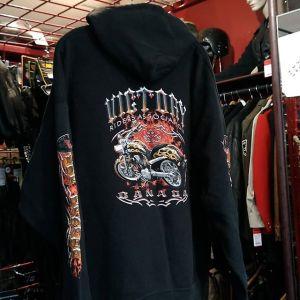 HANES Textile Zip-Up Fashion HOODIE 14442 ( Size XL-2XL )