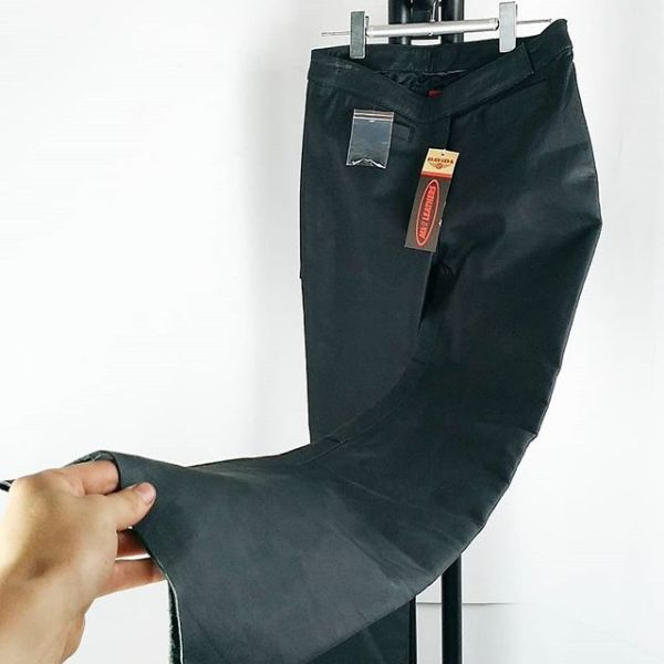 DAVIDA Leather Riding PANTS 15229 ( Size 12 W )
