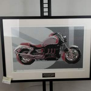 ROCKET III Framed Art TCHOTCKES 15370 ( Size Med )