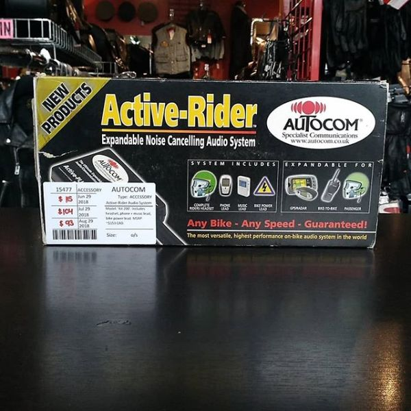 AUTOCOM Active-Rider Audio System ACCESSORY 15477