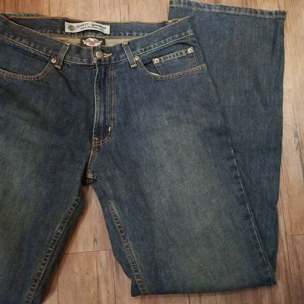 HARLEY DAVIDSON Denim Jean PANTS 19152 ( Size 32 )