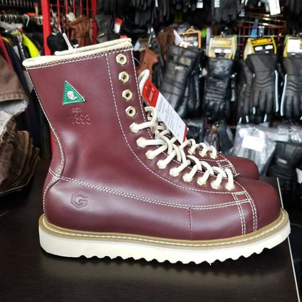 JB GOODHUE Leather Work BOOTS 20106