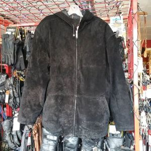 """FM Suede Long HOODIE 20193 ( Size 50"""" chest )"""