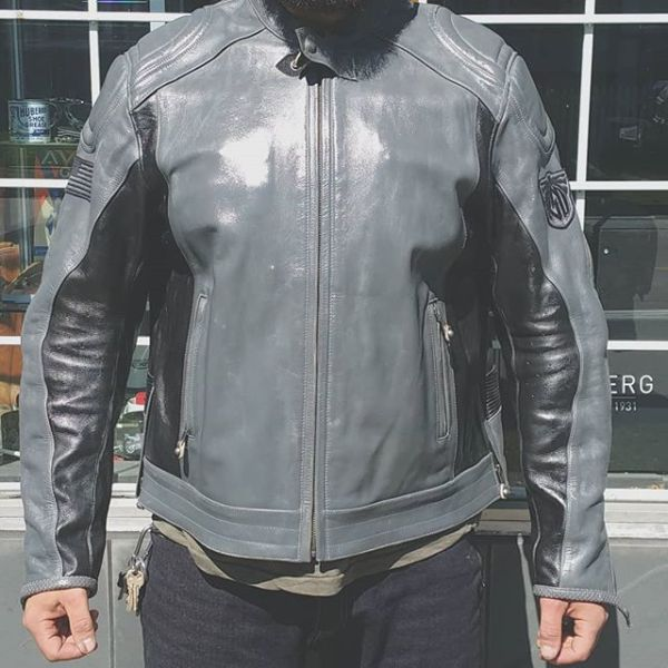 """ROLAND SANDS DESIGNS RSD Leather Mission JACKET 20499 ( Size XXXL 52"""" )"""