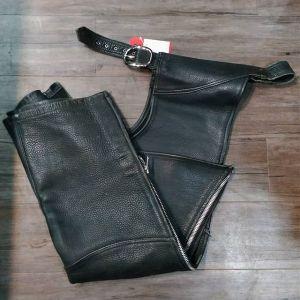 "CUSTOM Leather Classic CHAPS ( Thigh Circumf. Size 24"" )"